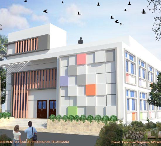 Pregnapur Government school