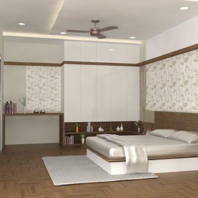 SECOND FLOOR BED ROOM VIEW 1